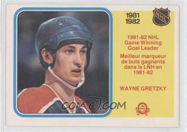 1982-83 O-Pee-Chee - [Base] #242 - Wayne Gretzky