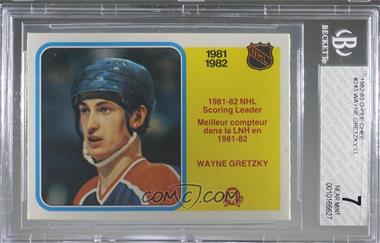 1982-83 O-Pee-Chee - [Base] #243 - Wayne Gretzky [BGS7NEARMINT]