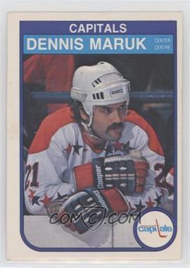 1982-83 O-Pee-Chee - [Base] #369 - Dennis Maruk