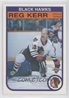 Reg Kerr [Noted]