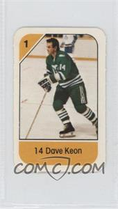 1982-83 Post Cereal - [Base] #14.14 - Dave Keon