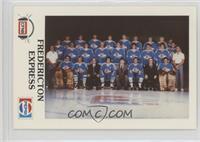 Fredericton Express Team Photo