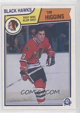 1983-84 O-Pee-Chee - [Base] #104 - Tim Higgins
