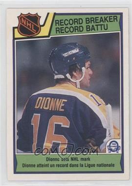 1983-84 O-Pee-Chee - [Base] #211 - Marcel Dionne