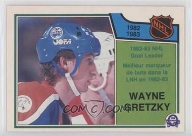 1983-84 O-Pee-Chee - [Base] #215 - Wayne Gretzky