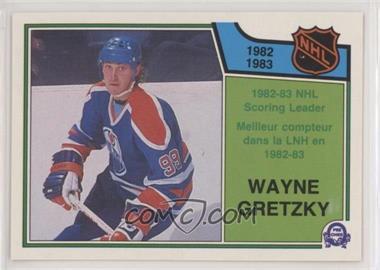 1983-84 O-Pee-Chee - [Base] #217 - Wayne Gretzky