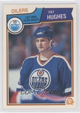 1983-84 O-Pee-Chee - [Base] #31 - Pat Hughes