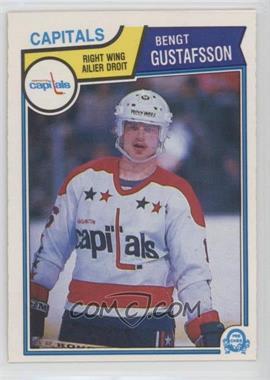 1983-84 O-Pee-Chee - [Base] #370 - Bengt-Ake Gustafsson