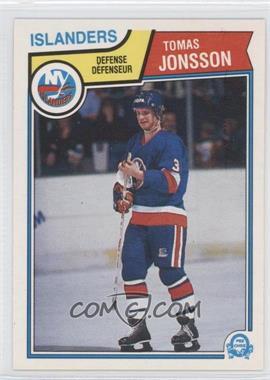 1983-84 O-Pee-Chee - [Base] #9 - Tomas Jonsson