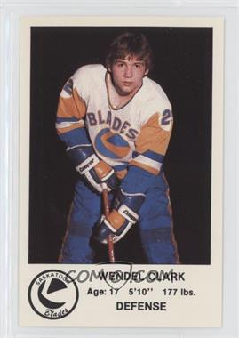 1983-84 Saskatoon Blades P.L.A.Y. (Police, Laws and Youth) - [Base] #8 - Wendel Clark