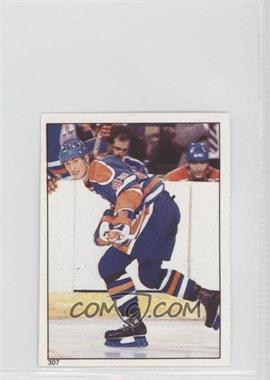1983-84 Topps Album Stickers - [Base] #307 - Wayne Gretzky