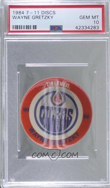 1984-85 7-Eleven Discs - Food Issue [Base] #WAGR.1 - Wayne Gretzky (Standard Size Disc) [PSA10GEMMT]