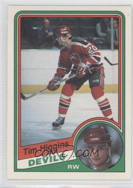 1984-85 O-Pee-Chee - [Base] #111 - Tim Higgins