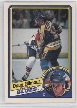 1984-85 O-Pee-Chee - [Base] #185 - Doug Gilmour