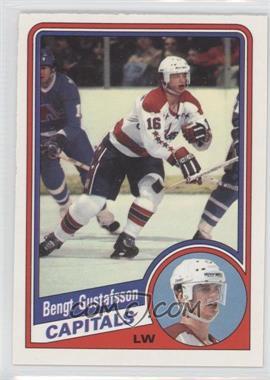 1984-85 O-Pee-Chee - [Base] #198 - Bengt-Ake Gustafsson