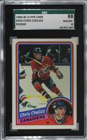 Chris Chelios [SGC 88 NM/MT 8]
