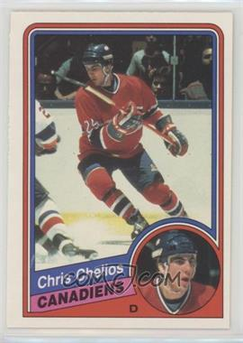 1984-85 O-Pee-Chee - [Base] #259 - Chris Chelios