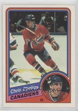 1984-85 O-Pee-Chee - [Base] #259 - Chris Chelios