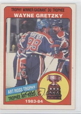 1984-85 O-Pee-Chee - [Base] #373 - Wayne Gretzky