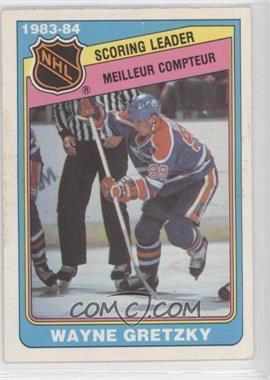 1984-85 O-Pee-Chee - [Base] #380 - Wayne Gretzky