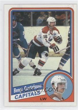 1984-85 Topps - [Base] #144 - Bengt-Ake Gustafsson