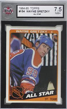 1984-85 Topps - [Base] #154 - Wayne Gretzky [KSA7.5NM+]