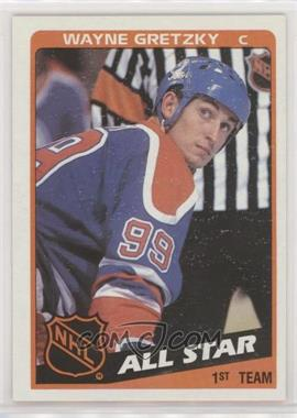 1984-85 Topps - [Base] #154 - Wayne Gretzky