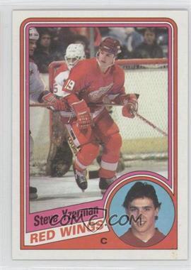1984-85 Topps - [Base] #49 - Steve Yzerman