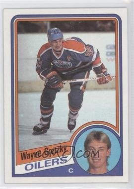 1984-85 Topps - [Base] #51 - Wayne Gretzky