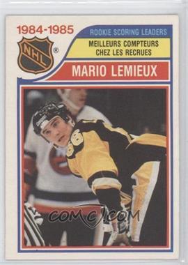 1985-86 O-Pee-Chee - [Base] #262 - Mario Lemieux