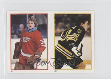 1985-86 O-Pee-Chee Album Stickers - [Base] #31-161 - Greg Stefan, Mike O'Connell