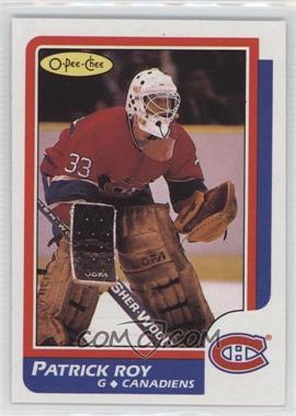 1986-87 O-Pee-Chee - [Base] #53 - Patrick Roy