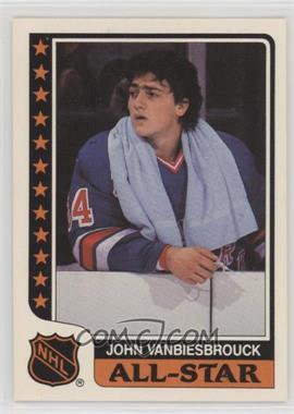1986 87 Topps All Star Stickers 1 John Vanbiesbrouck
