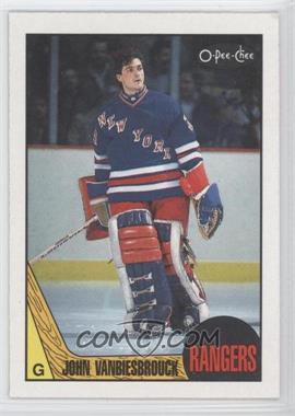 1987-88 O-Pee-Chee - [Base] #36 - John Vanbiesbrouck