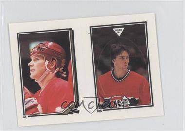 1987-88 O-Pee-Chee Album Stickers - [Base] #185-45 - Patrick Roy, Carey Wilson