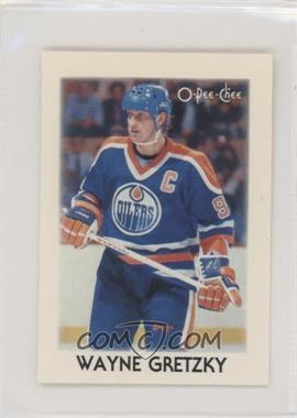 1987-88 O-Pee-Chee Leaders Mini - [Base] #13 - Wayne Gretzky