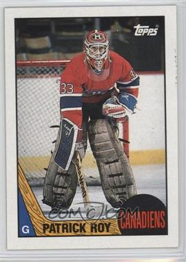 1987-88 Topps - [Base] #163 - Patrick Roy