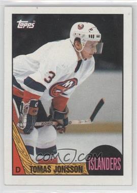 1987-88 Topps - [Base] #190 - Tomas Jonsson