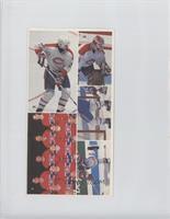 Kjell Dahlin, Patrick Roy, Team Photo Top Center, Mats Naslund Bottom Half, Guy…