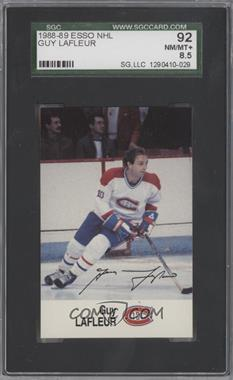1988-89 ESSO NHL All-Star Collection - [Base] #GULA - Guy Lafleur [SGC 92]
