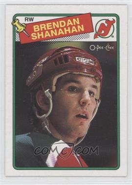 1988-89 O-Pee-Chee - [Base] #122 - Brendan Shanahan