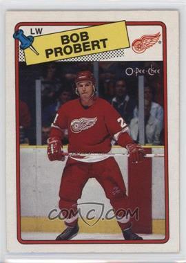 1988-89 O-Pee-Chee - [Base] #181 - Bob Probert