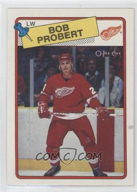 1988-89 O-Pee-Chee - [Base] #181 - Bob Probert