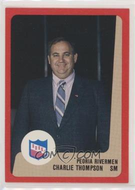 1988-89 ProCards AHL/IHL - [Base] #CHTH - Charlie Thompson