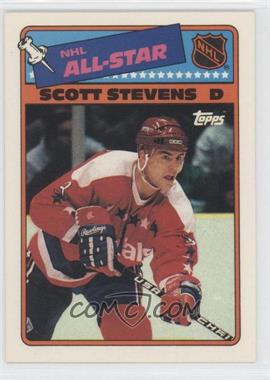 1988-89 Topps - All-Star Stickers #4 - Scott Stevens