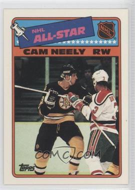 1988-89 Topps - All-Star Stickers #9 - Cam Neely