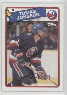 1988-89 Topps - [Base] #108 - Tomas Jonsson