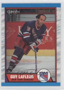 1989-90 O-Pee-Chee - [Base] #189 - Guy Lafleur