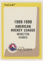 Moncton Hawks Checklist
