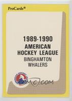 Binghamton Whalers Checklist